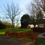 tuin en tuinhuis